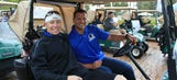 Marlins players reunite at Celebrity Golf Classic before hitting the diamond