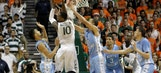 Missing Angel Rodriguez, Miami's tournament hopes take serious hit with loss to UNC