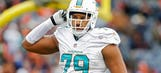 Dolphins defensive lineman Shelby signs $2.4 million tender