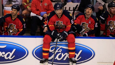 5. Florida Panthers trade for Jaromir Jagr