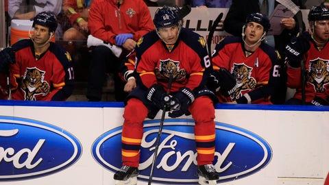 5. Florida Panthers trade for Jaromir Jagr
