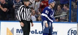 Drop the gloves: Steven Stamkos gets in rare fight against Bruins (VIDEO)