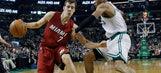 Dragic leads injury-riddled Heat past Celtics