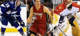 Weekend Watch List: Playoff push continues for Lightning, Panthers, Heat