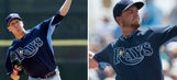 Rays' injuries open opportunities for Teaford, Andriese to make impression