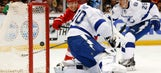 Lightning shut down first time this season by Detroit's Petr Mrazek