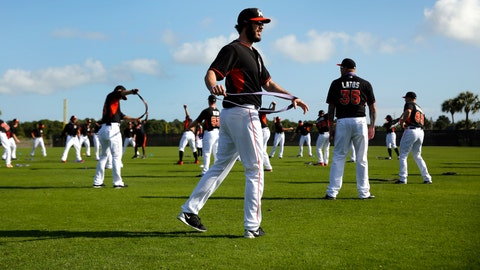Marlins spring training
