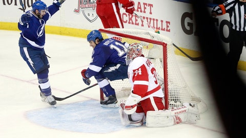 Game 1: Lightning vs. Red Wings