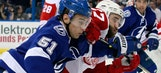 Lightning drop Game 1 at home to Red Wings