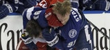 Lightning vs. Red Wings Game 2 photo gallery