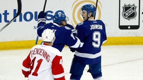 Game 2: Lightning vs. Red Wings