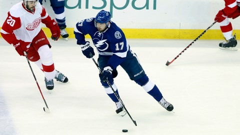 Game 5: Lightning vs. Red Wings