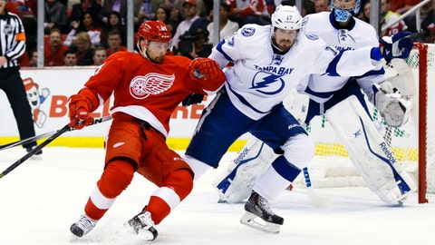Game 6: Lightning vs. Red Wings