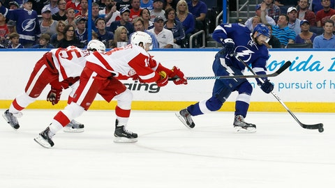Game 7: Lightning vs. Red Wings