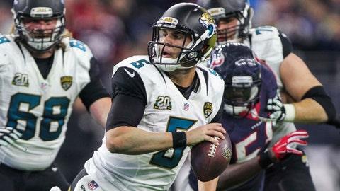 Jacksonville Jaguars: 5.5
