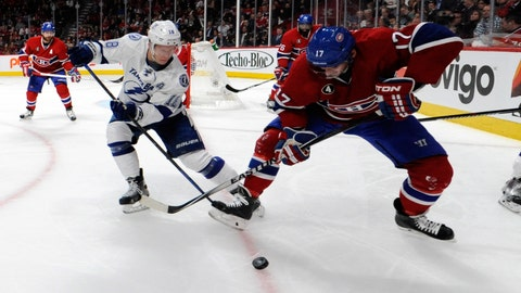 Game 1: Lightning vs. Canadiens