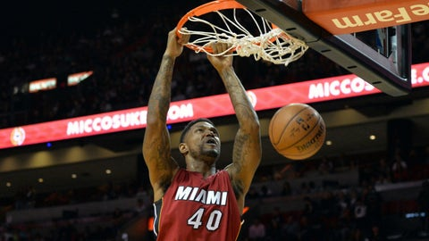 Miami Heat - Udonis Haslem, Age: 35
