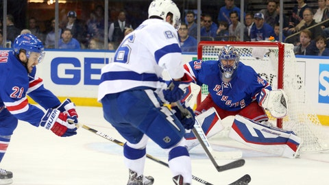 Game 1: Lightning vs. Rangers