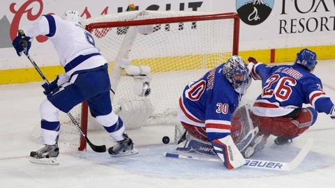 Game 2: Lightning vs. Rangers