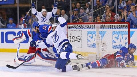 Game 2: Lightning vs. Rangers