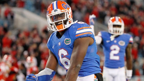 Dante Fowler Jr., DE/OLB, Florida, first round (No. 3 overall)