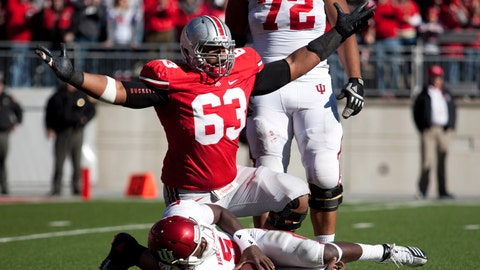 Michael Bennett, DT, Ohio State, sixth round (No. 180 overall)
