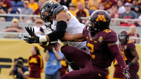 Cedric Thompson, S, Minnesota, fifth round (No. 150 overall)