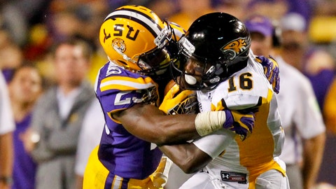 Kwon Alexander, LB, LSU, fourth round (No. 124 overall)