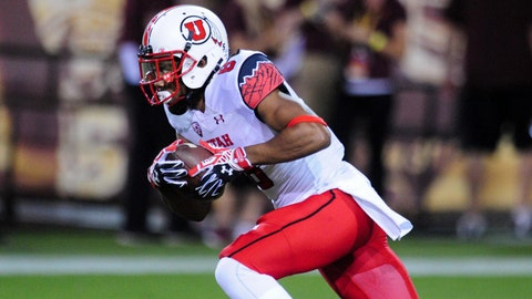 Kaelin Clay, WR, Utah, sixth round (No. 184 overall)