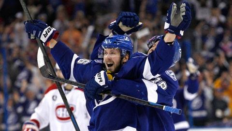Win 8: Lightning 4, Canadiens 1 (Lightning win series 4-2)