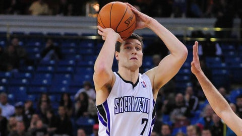 2011 No. 10 pick: Jimmer Fredette (Sacramento Kings)