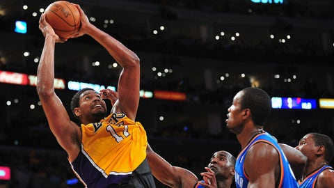2005 No. 10 pick: Andrew Bynum (Los Angeles Lakers)