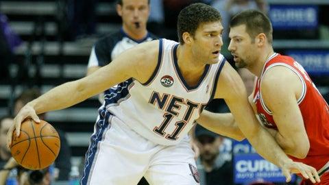 2008 No. 10 pick: Brook Lopez (New Jersey Nets)