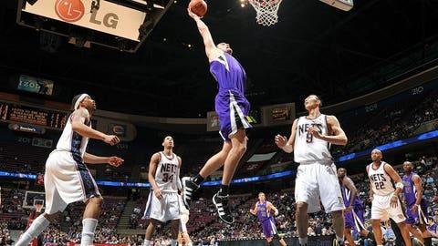 2007 No. 10 pick: Spencer Hawes (Sacramento Kings)