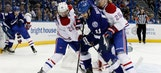Lightning can't finish off Carey Price, Canadiens