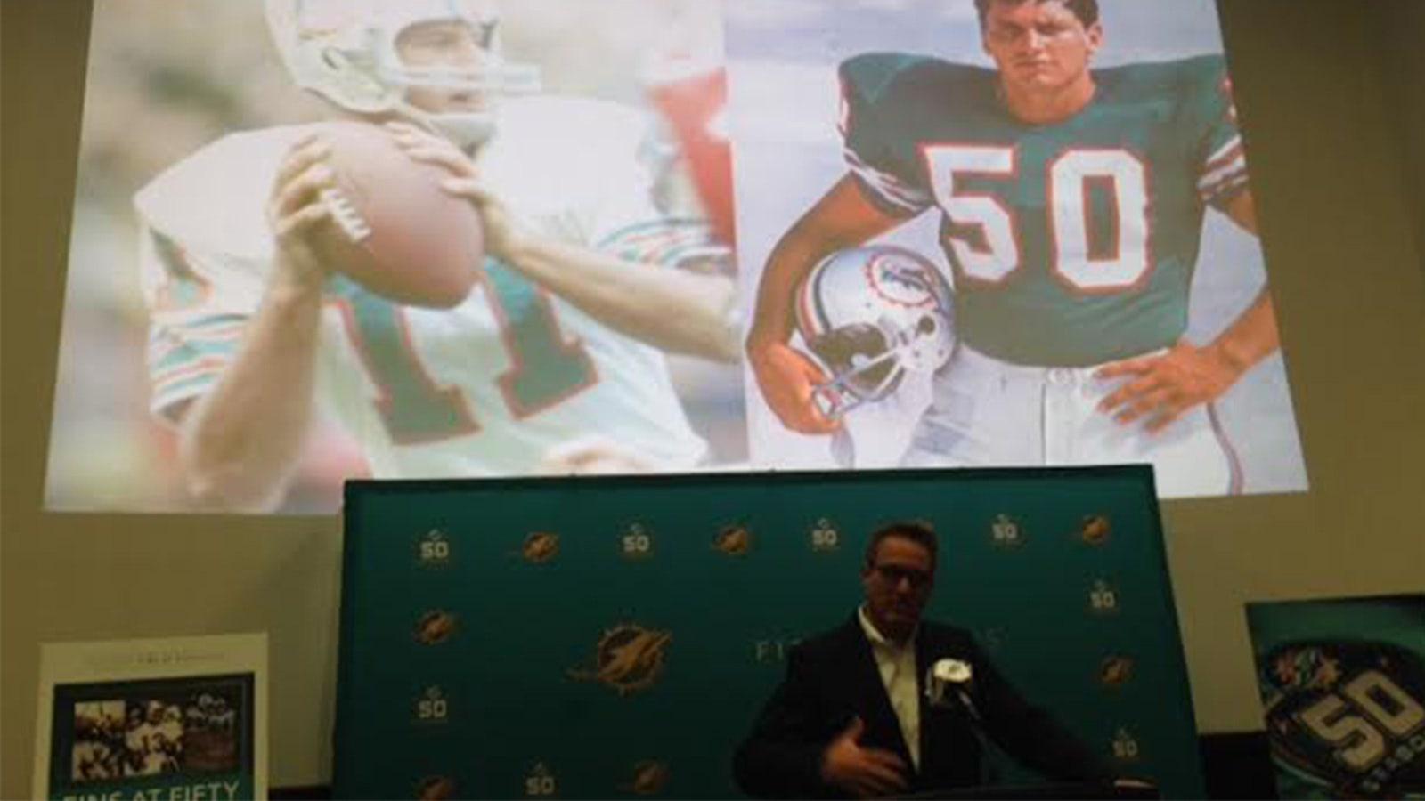purchase cheap 664ae 0a016 Dolphins to don 1966 throwbacks in anniversary season   FOX ...