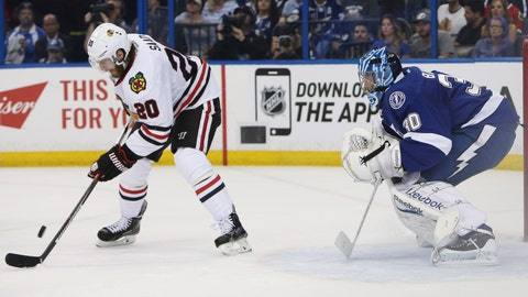 Game 1: Lightning vs. Blackhawks
