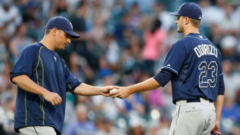 June 5: Jake Odorizzi removed from game with injury
