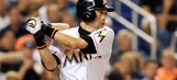 Marlins' Suzuki less than 100 hits away from 3K