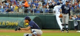 Rays threaten with late rally but come up short against Royals