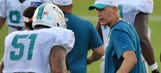 Coach hopes practices prepare Dolphins to be road warriors