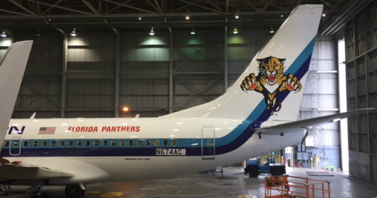 Panthers Announce Partnership With Eastern Airlines For