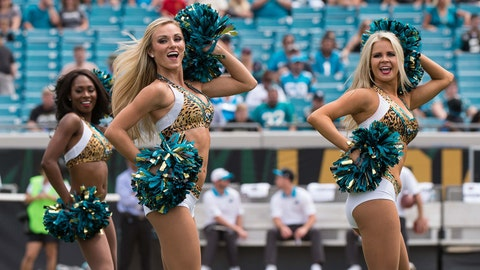 Jacksonville Jaguars cheerleaders