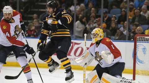 No. 10: Panthers 5, Sabres 1 -- Jan. 5, 2016