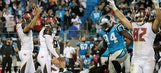 Aguayo atones for earlier misses with game winner as Bucs edge Panthers