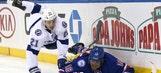 Steven Stamkos nets Lightning's lone goal in blowout loss to Rangers