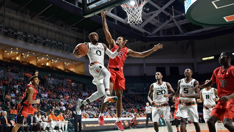 Miami hands Rutgers first loss of season in ACC/Big Ten Challenge