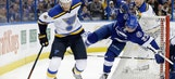 Lightning's home win streak comes to end despite outshooting Blues