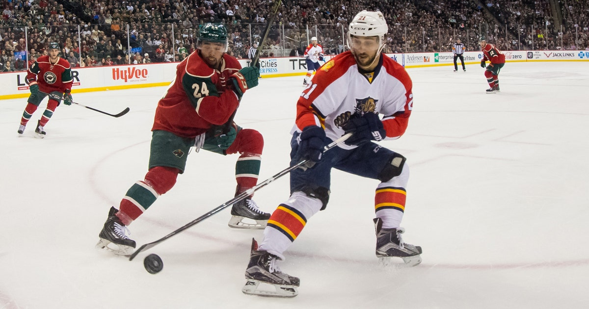 4ca2f822c Panthers bested by Wild for 1st regulation loss in 6 games