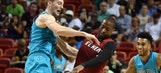 Heat can't hold onto big, early lead, bested at home by Hornets